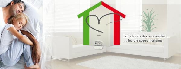 la caldaia di casa ha un cuore italiano