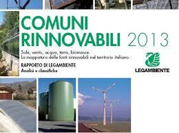 comuni rinnovabili 2013