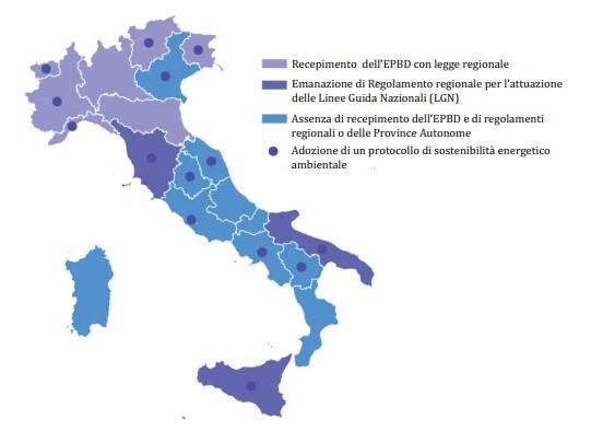 Rapporto sull attuazione della certificazione energetica degli edifici in Italia 2013