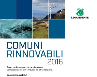 comuni rinnovabili 2016