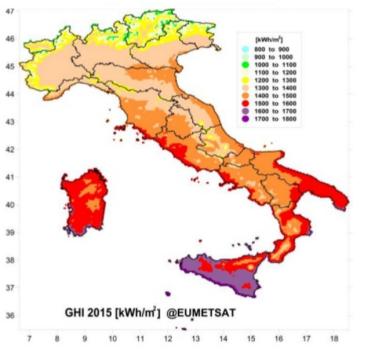 solare termico in italia