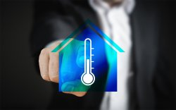 smart home caldaie temperatura italtherm